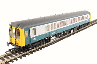 Class 121 single car DMU 'Bubblecar' W55029 in BR blue & grey