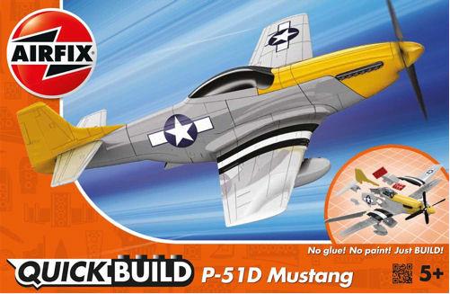 Airfix Quickbuild P-51D Mustang