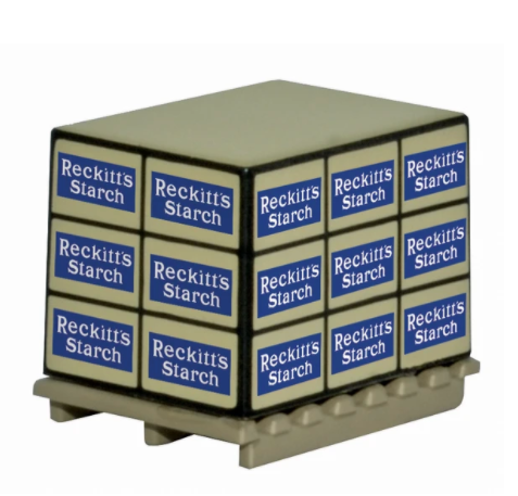 76ACC007 Pallet Loads Reckitts Starch