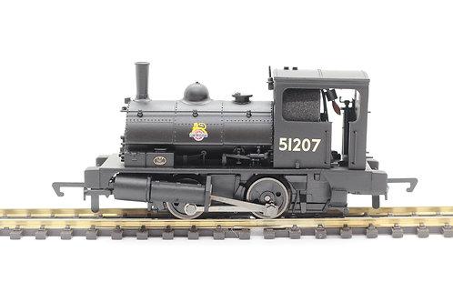 R3728BR, Class 21 'Pug', 0-4-0ST, 51207