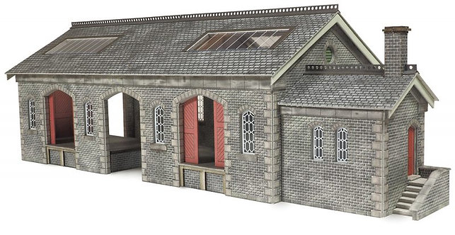 PO336 Settle Carlisle Railway Goods Shed
