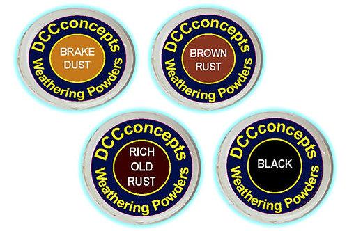 DCW-TRK Weathering Powders