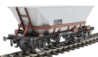 7F-048-005 HBA MGR coal hopper 354317 in Railfreight livery with brown cradle