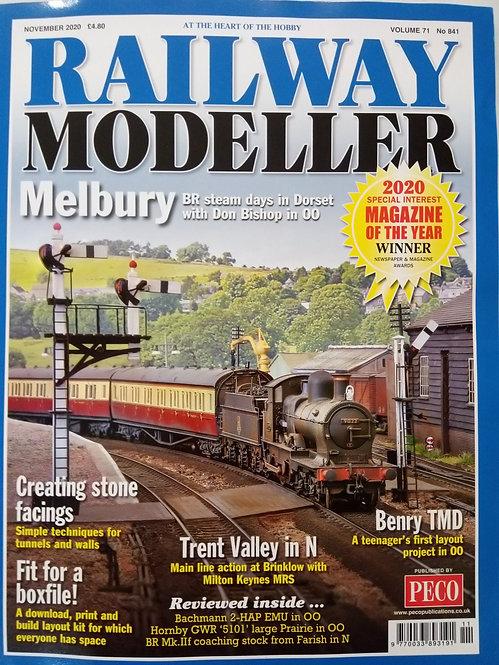 Railway Modeller Magazine November 2020