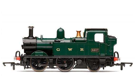 RailRoad GWR 0-4-2T '4837' Class 14xx