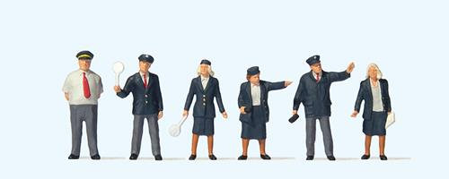 73005 British Rail Staff (6) British OO Scale Figure Set