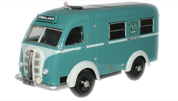 Austin Welfarer Ambulance. Nottingham Ambulance