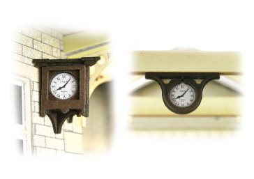 PO515 00 Scale Station Clock