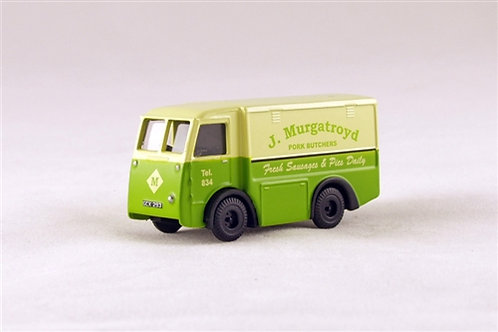 EM76640 NCB Electric Van J MURGATROYD PORK BUTCHERS