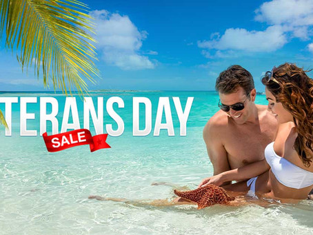 Sandals and Beaches Resorts Veterans Day Sale!
