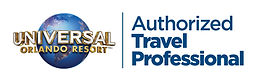 Authorized Travel Professional Logo Whit