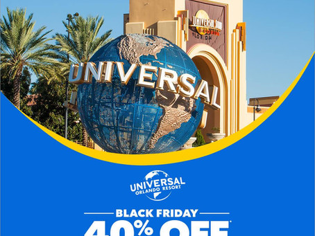 Save 40% on a Universal Orlando Vacation Package