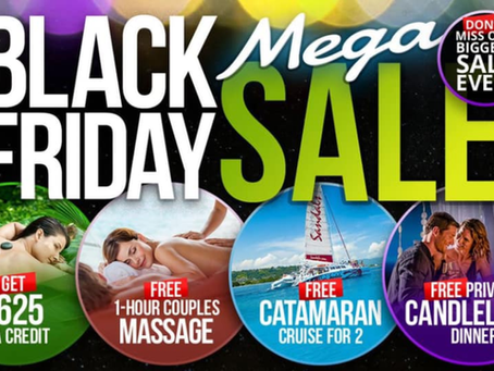 Sandals and Beaches Resorts Cyber Monday Deals