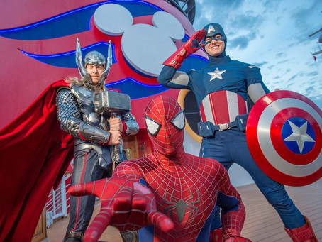 Choose Your Adventure: Marvel and Star Wars Day at Sea