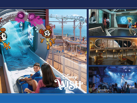 Disney Wish Begins Sailing in Summer 2022!