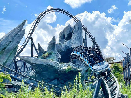 VelociCoaster Now Open at Universal Orlando!