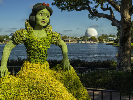 The Taste of Epcot Flower and Garden Festival Begins March 3
