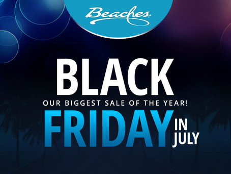 Sandals and Beaches Resorts Black Friday in July Sale!