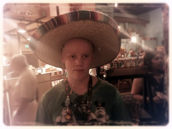 Nik in the Mexico Pavilion at Epcot