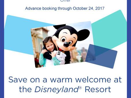 Disney Visa Cardholder Offer:  Save Up To 25% On Rooms At The Disneyland Resort