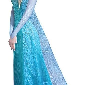 Disney Bounding on a Budget -- Elsa (Evening)