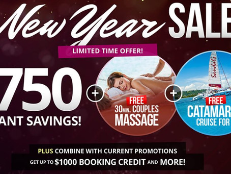 Sandals Resorts New Year's Special Offers