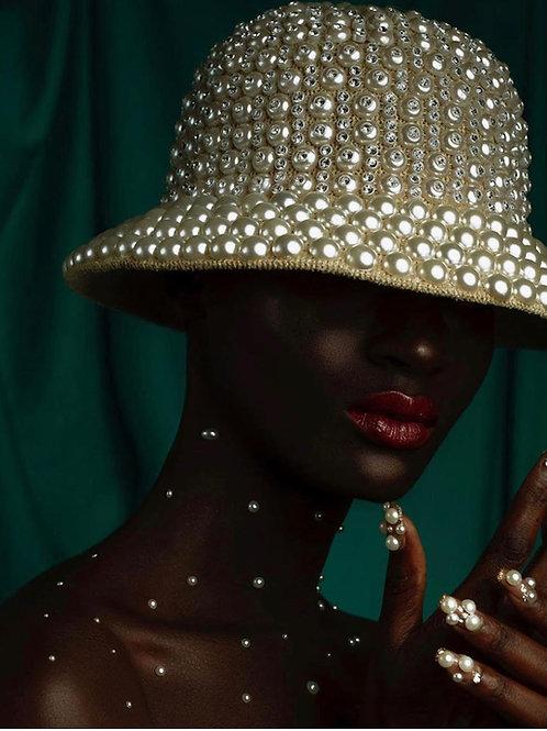 Pearl Bucket Hat ( PRE ORDER)