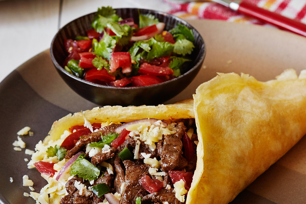 Low Carb Beef Burrito