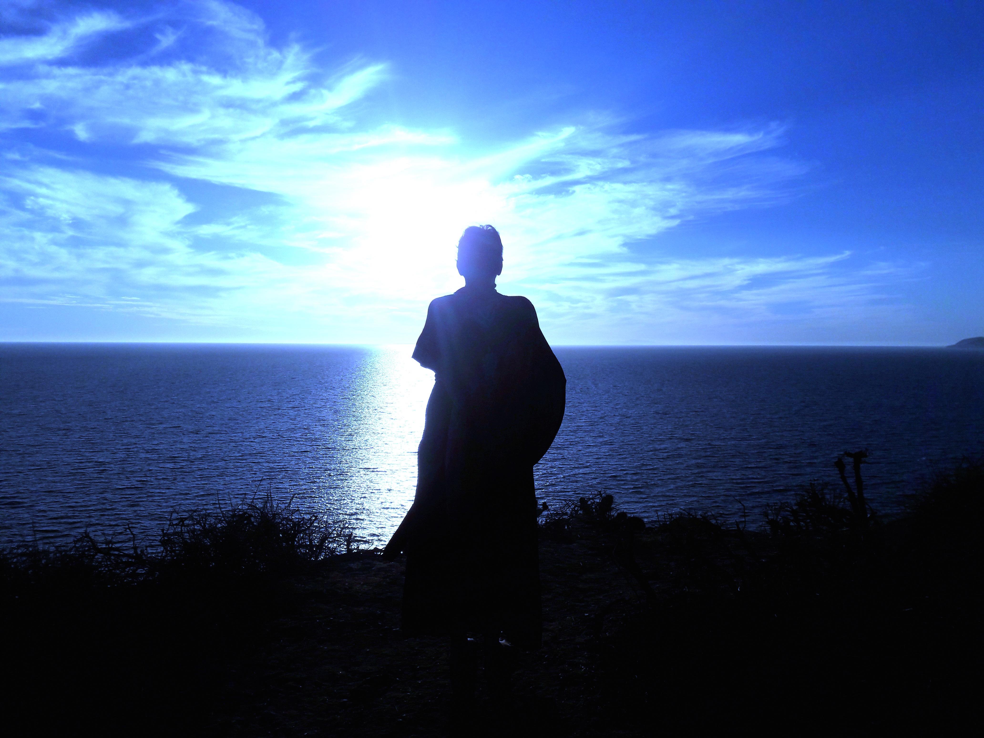 Where the earth and sea meet the sky