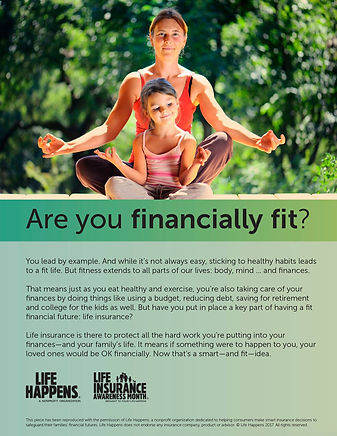 are you financially fit