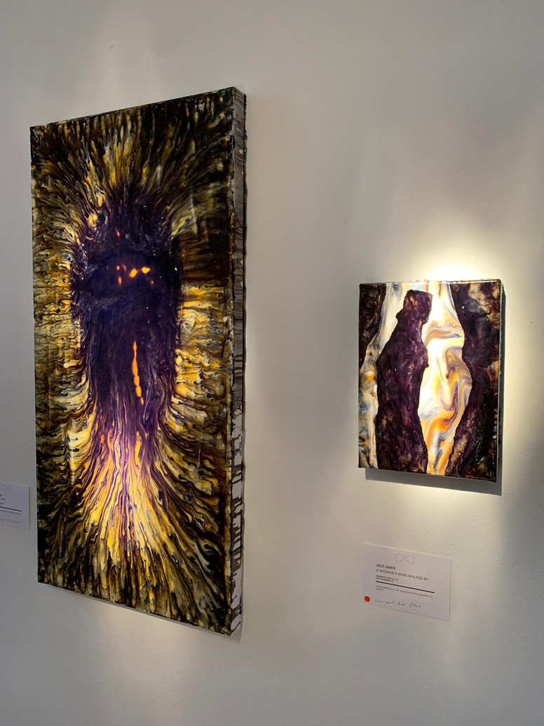 'Natural Void' and 'A Woman, A Man Walked By'