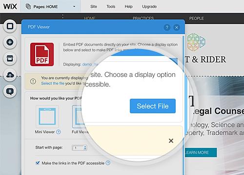 PDF Viewer Overview | WIX App Market | Wix com