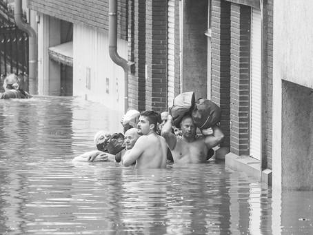 Inondations: crise sévère en Belgique