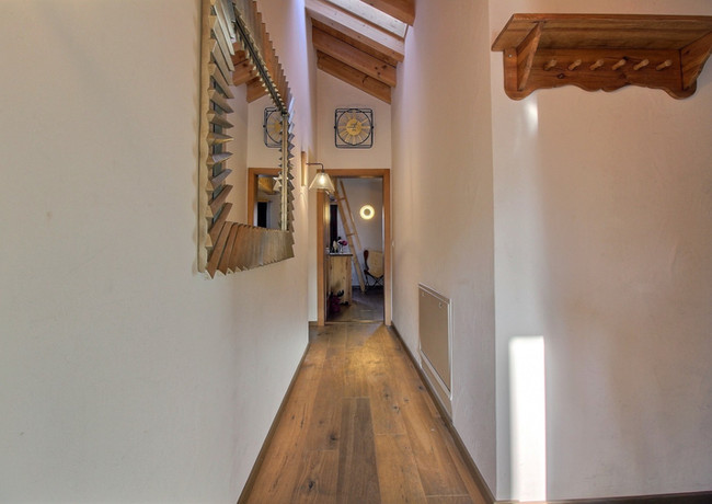 High vaulted ceilings throughout