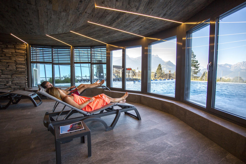 Villars Spa is the perfect way to relax after a busy day