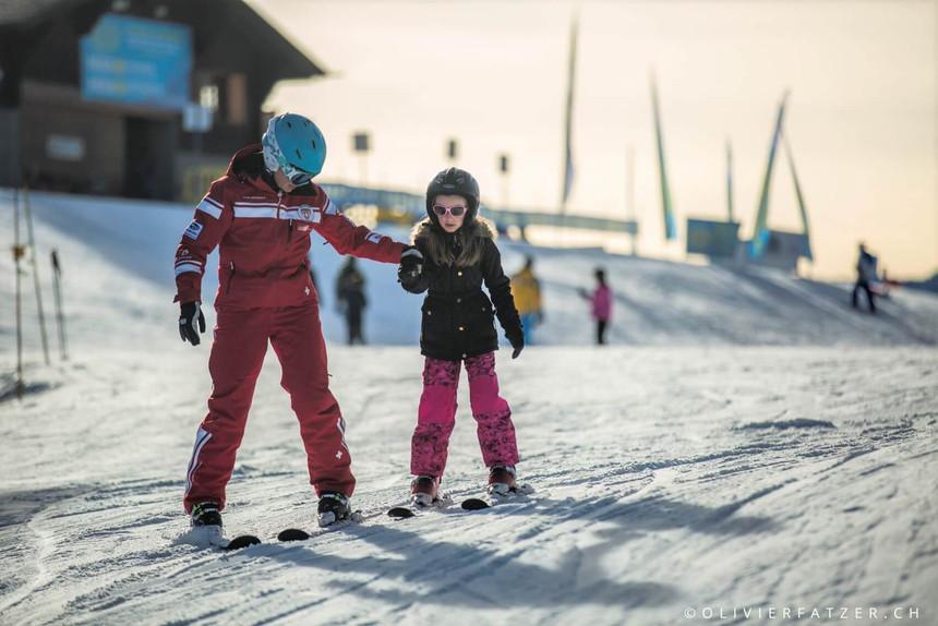 Villars has one of Switzerland's largest ski school!
