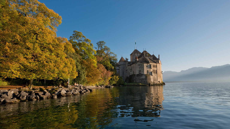 Chillion Castle - The pearl of Lake Geneva - 25 mins from Villars