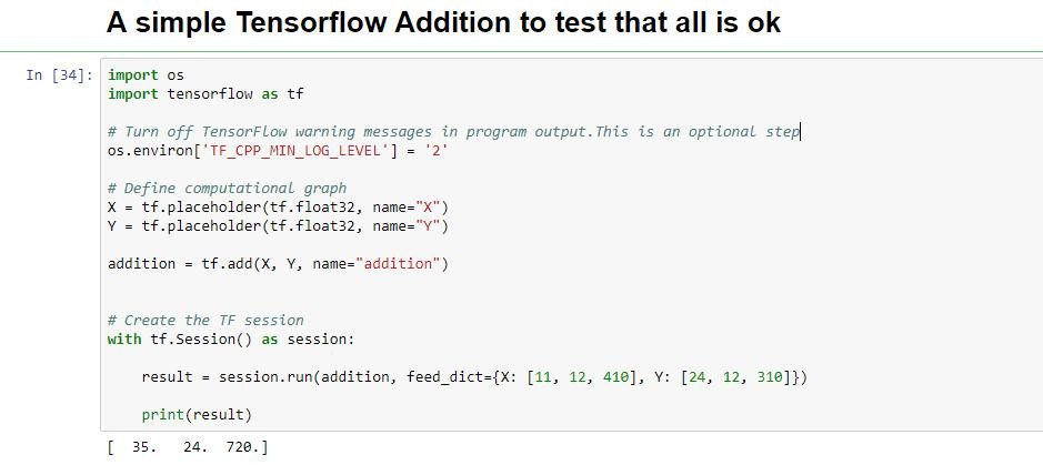 How to use TensorFlow with simple example | MieRobot blogs | Anirban Ghatak