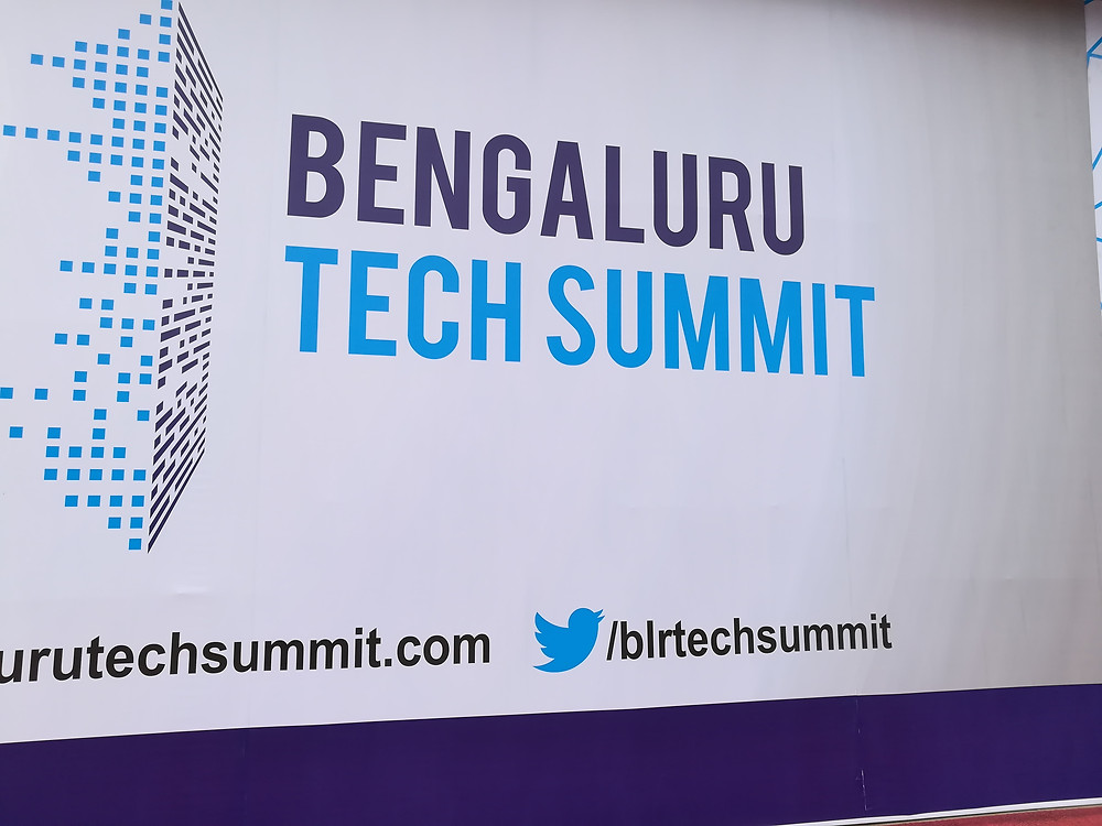 Collage of memories from Bengaluru tech summit 2017 | Mierobot.com