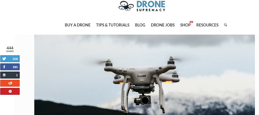 Interview with drone-supremacy | Robotics blog