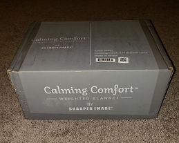 The Calming Comfort Weighted Blanket By Sharper Image Blog The
