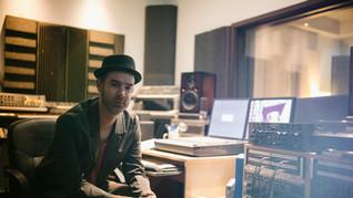 Músico de una Sala de grabación