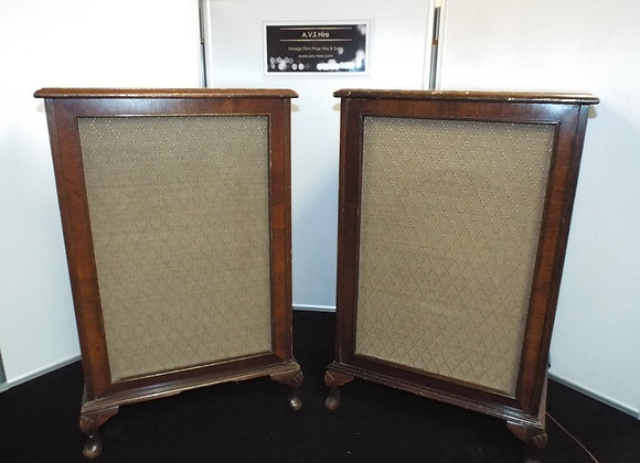 Wooden Cabriole Speakers