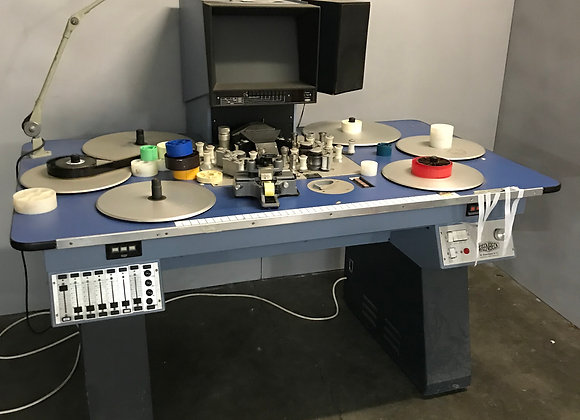 Steenbeck 6 plate 35mm Editing Table