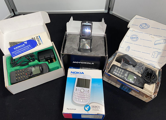 Various Boxed Mobiles