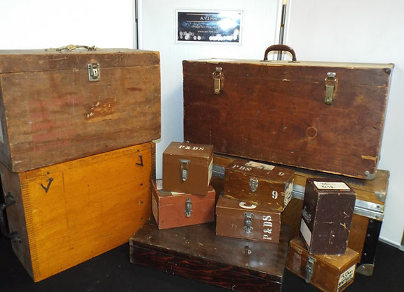 Wooden Transport Cases