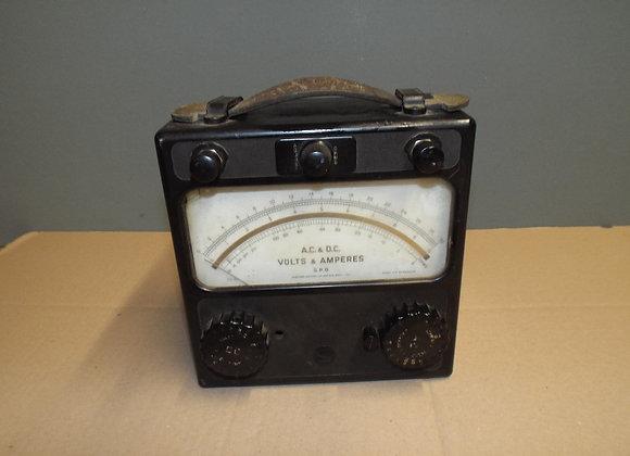 G.P.O Voltmeter and Ampmeter