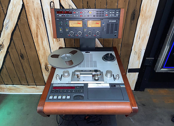 Studer A812 Reel to Reel Tape Recorder Player