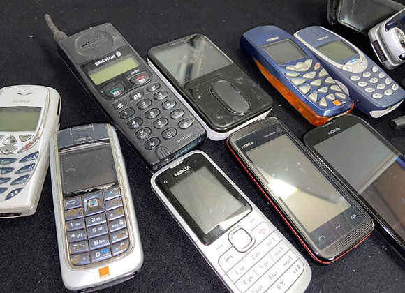 Various Unboxed Mobile Phones