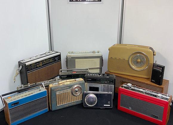 Selection of Various Radios